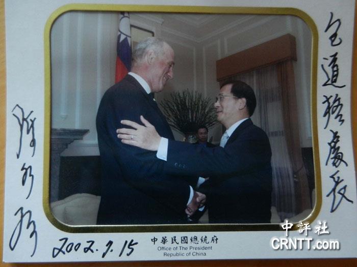 與民進黨打過交道的包道格,相信民進黨會用陰謀論來煽動台灣民眾反對習馬會。