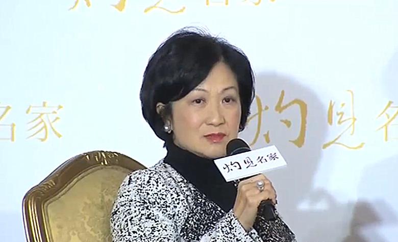葉劉淑儀形容自己一直很堅定,指會在適當時候宣佈參選行政長官。